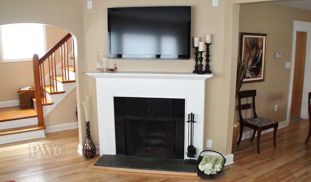 Fireplace and Entertainment Centre